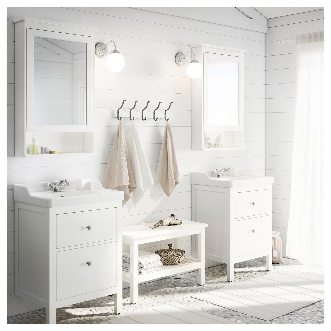 HEMNES RäTTVIKEN Kast voor wastafel met 2 lades Wit 60x49x89 cm IKEA