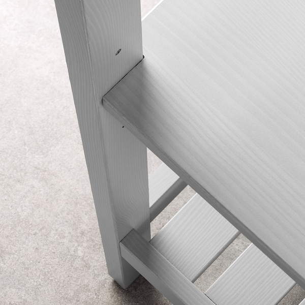 HEMNES Stellingkast, grijs, 42x172 cm