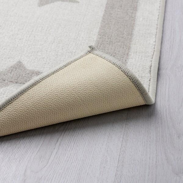 HIMMELSK Vloerkleed, grijs, 133x160 cm