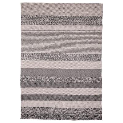 HOLMSTRUP Vloerkleed, handgemaakt/grijs, 160x230 cm