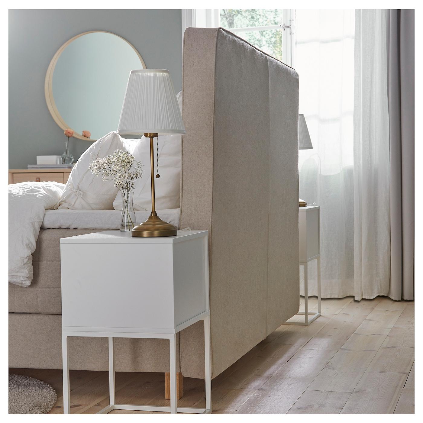 hommelvik boxspring hidrasund stevig tistedal naturel 160 x 200 cm ikea. Black Bedroom Furniture Sets. Home Design Ideas