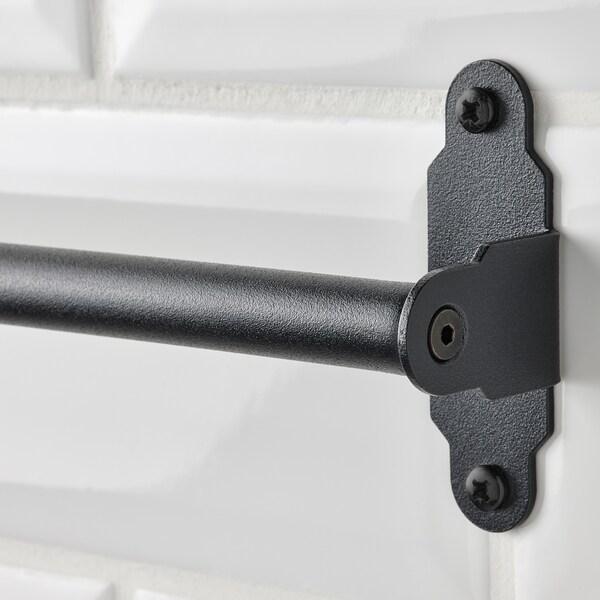HULTARP Stang, zwart, 80 cm
