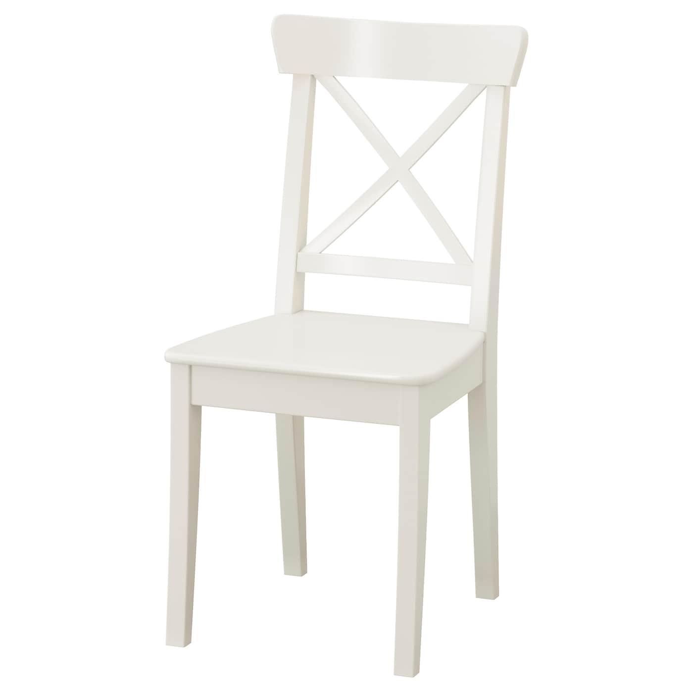 Houten Keukenstoel Wit.Eetkamerstoelen Ikea