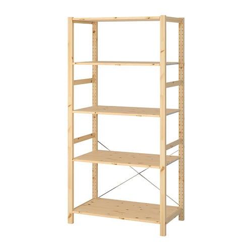 Stellingkast 25 Cm Diep.Ivar Stellingkast Grenen 89 X 50 X 179 Cm Ikea