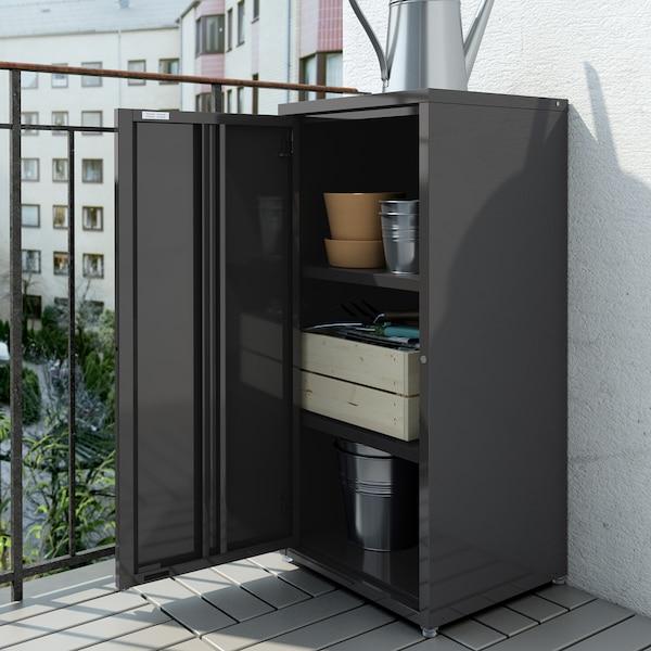 Verwonderend JOSEF Kast binnen/buiten, donkergrijs grijs, 40x35x86 cm - IKEA HV-48