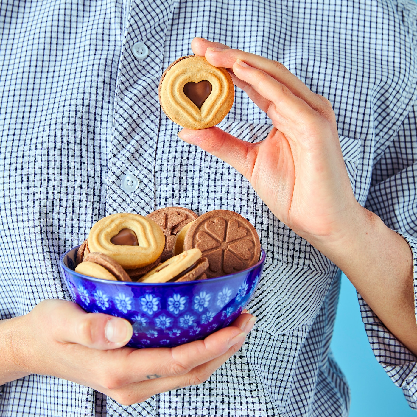 KAFFEREP Koekjes met chocoladevulling, UTZ-gecertificeerd