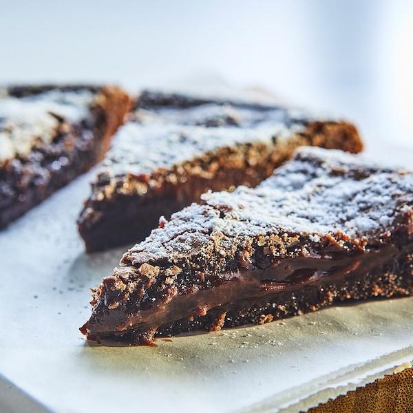 KAFFEREP Plakkerige chocoladetaart, diepvries/UTZ-gecertificeerd, 400 g