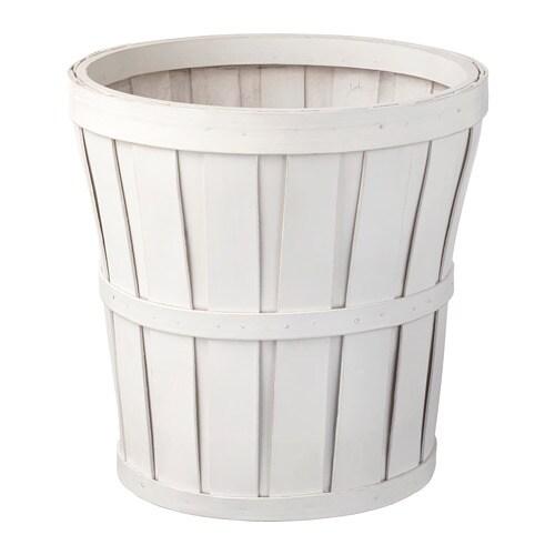 Plastic Bloempot Wit.Kalasa Sierpot Wit 24 Cm Ikea