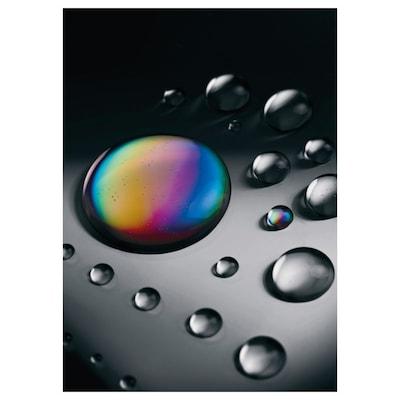 KATEBO Afbeelding zonder lijst, druppel olie, 50x70 cm
