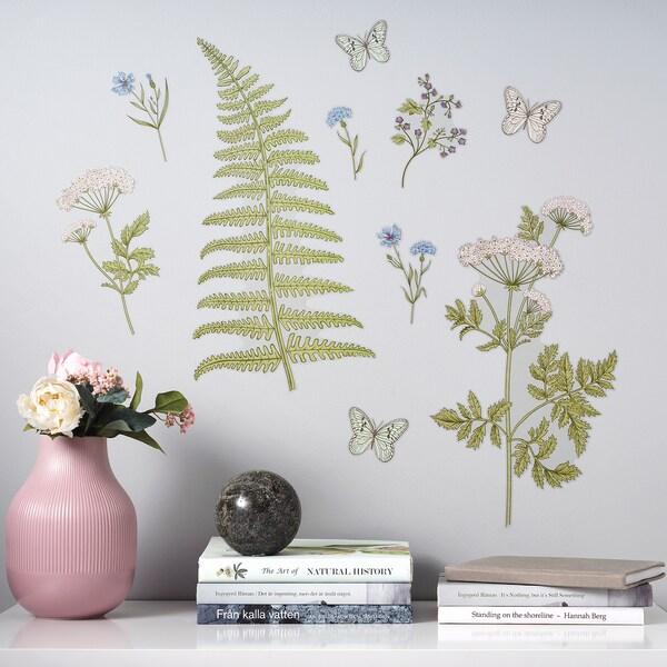 Kinnared Zelfklevende Decoratie Varen En Bloemen Ikea