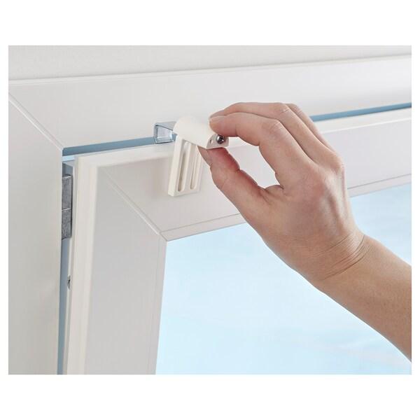 Verbazingwekkend KLAMBY Beslag v rolgordijn/jaloezie, wit - IKEA YY-91