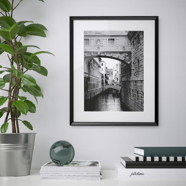 KNOPPÄNG Fotolijst, zwart, 40x50 cm