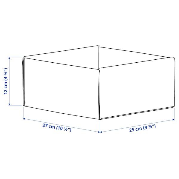 KOMPLEMENT Doos, lichtgrijs, 25x27x12 cm