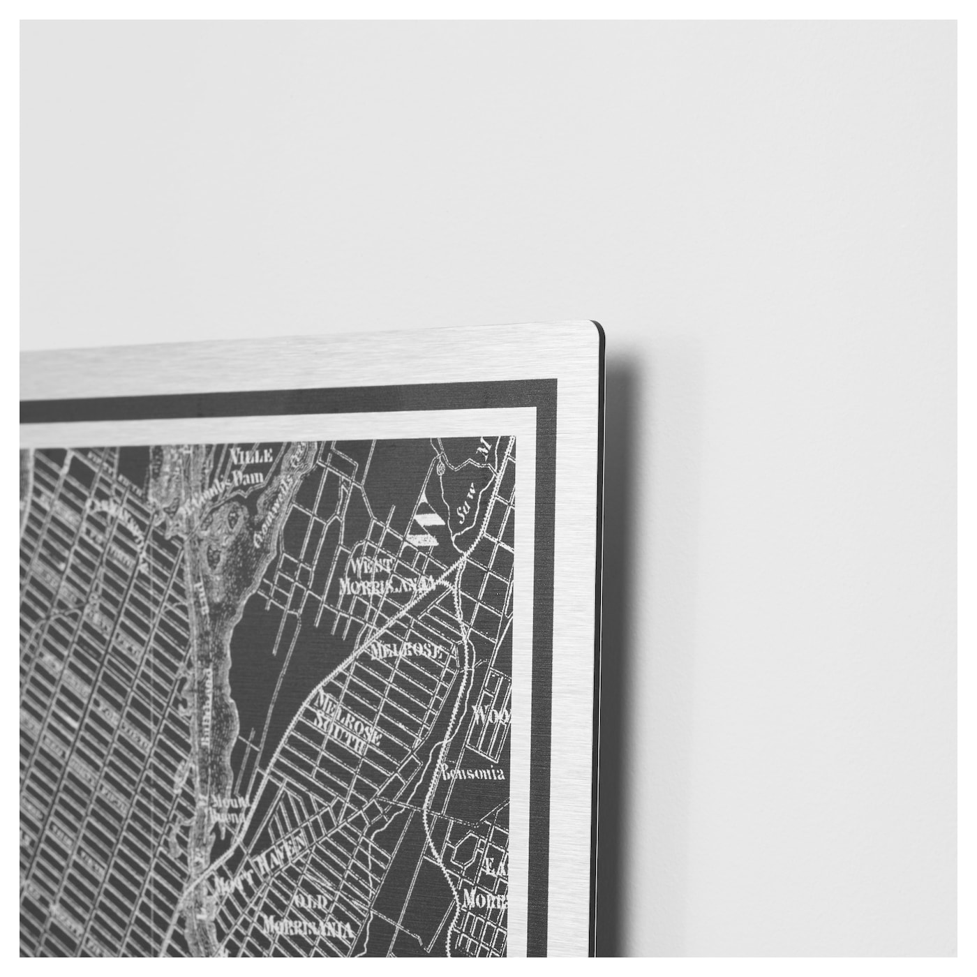 Kopparfall afbeelding zonder lijst new york city 49x70 cm for Ikea new york city