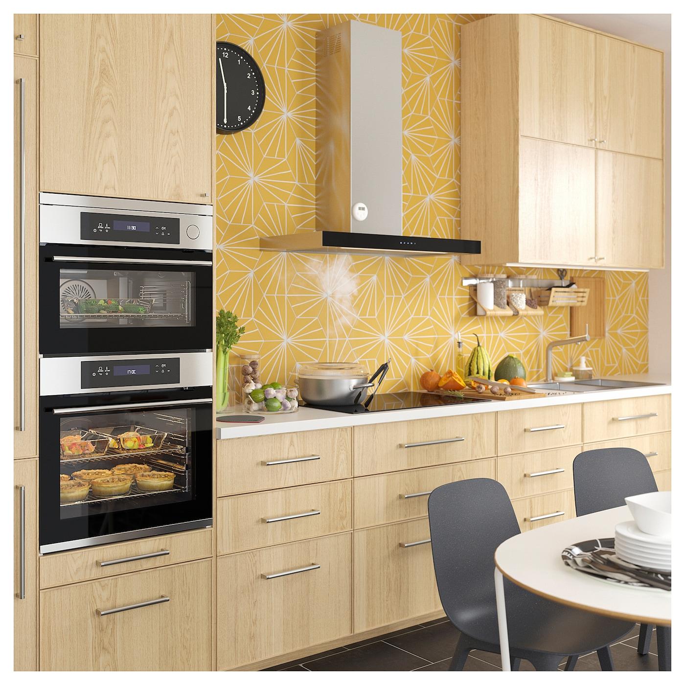 kulinarisk heteluchtoven zelfreinigingsfunctie roestvrij staal ikea. Black Bedroom Furniture Sets. Home Design Ideas
