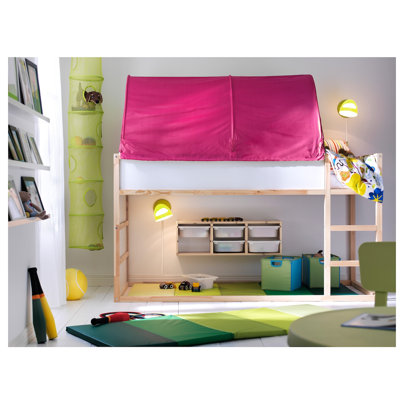 Kura Bedtent Roze Ikea
