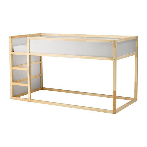 Kura Keerbaar Bed Wit Grenen 90x200 Cm Ikea