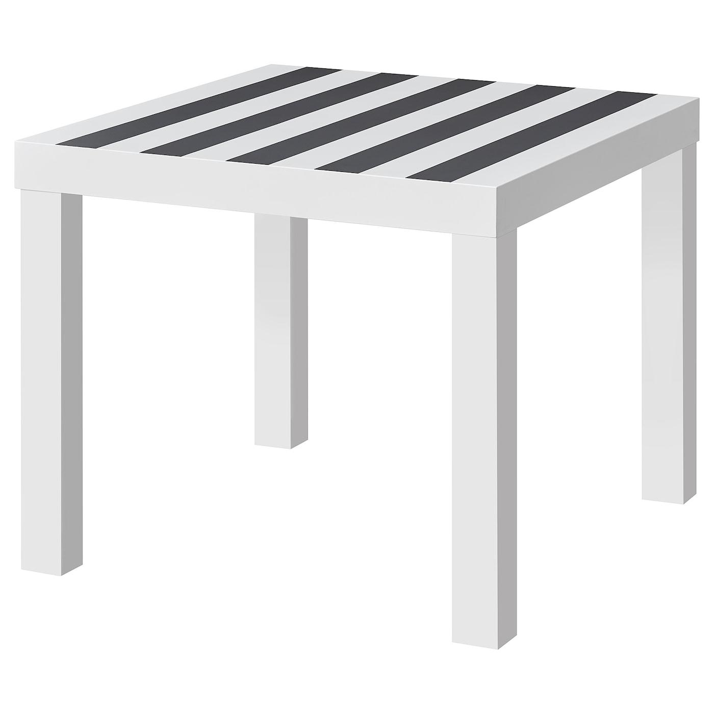 Design Kleine Tafeltjes.Bijzettafels Landelijk Houten Zwart Wit Glazen Design