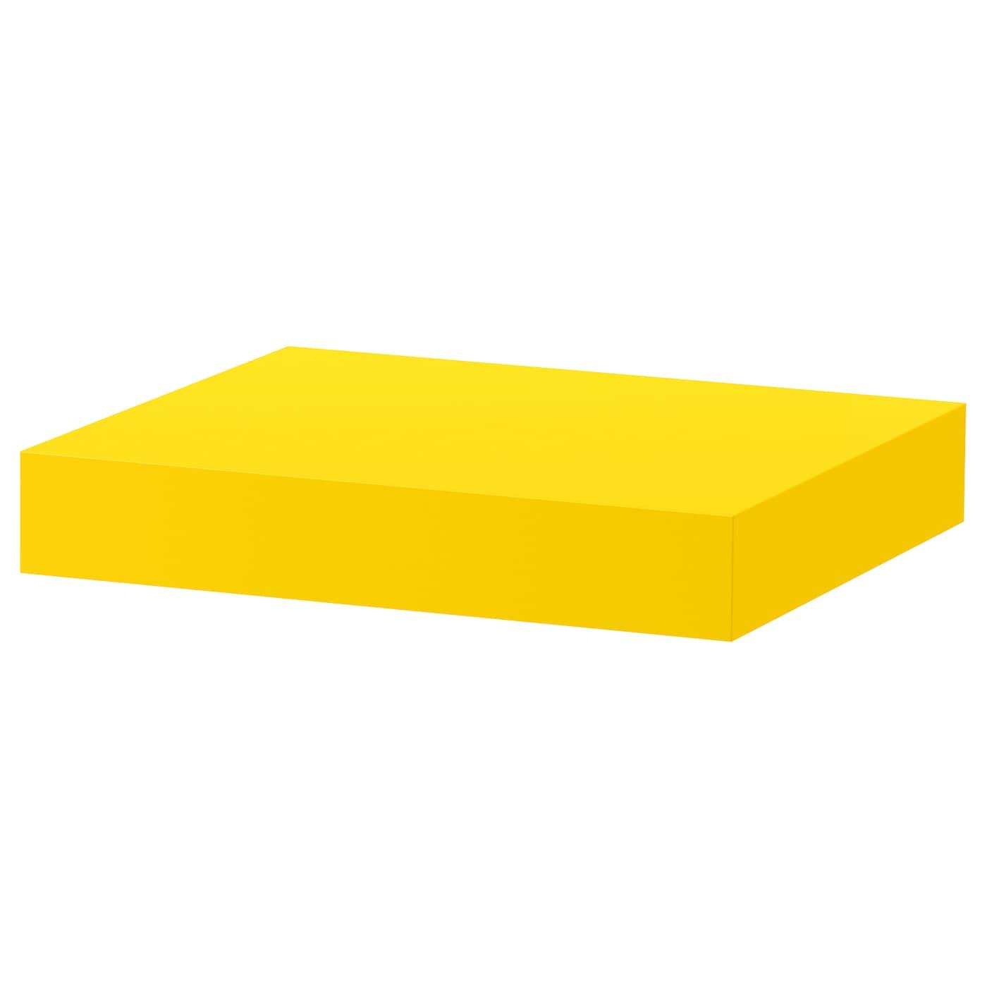 lack wandplank geel 30 x 26 cm ikea. Black Bedroom Furniture Sets. Home Design Ideas