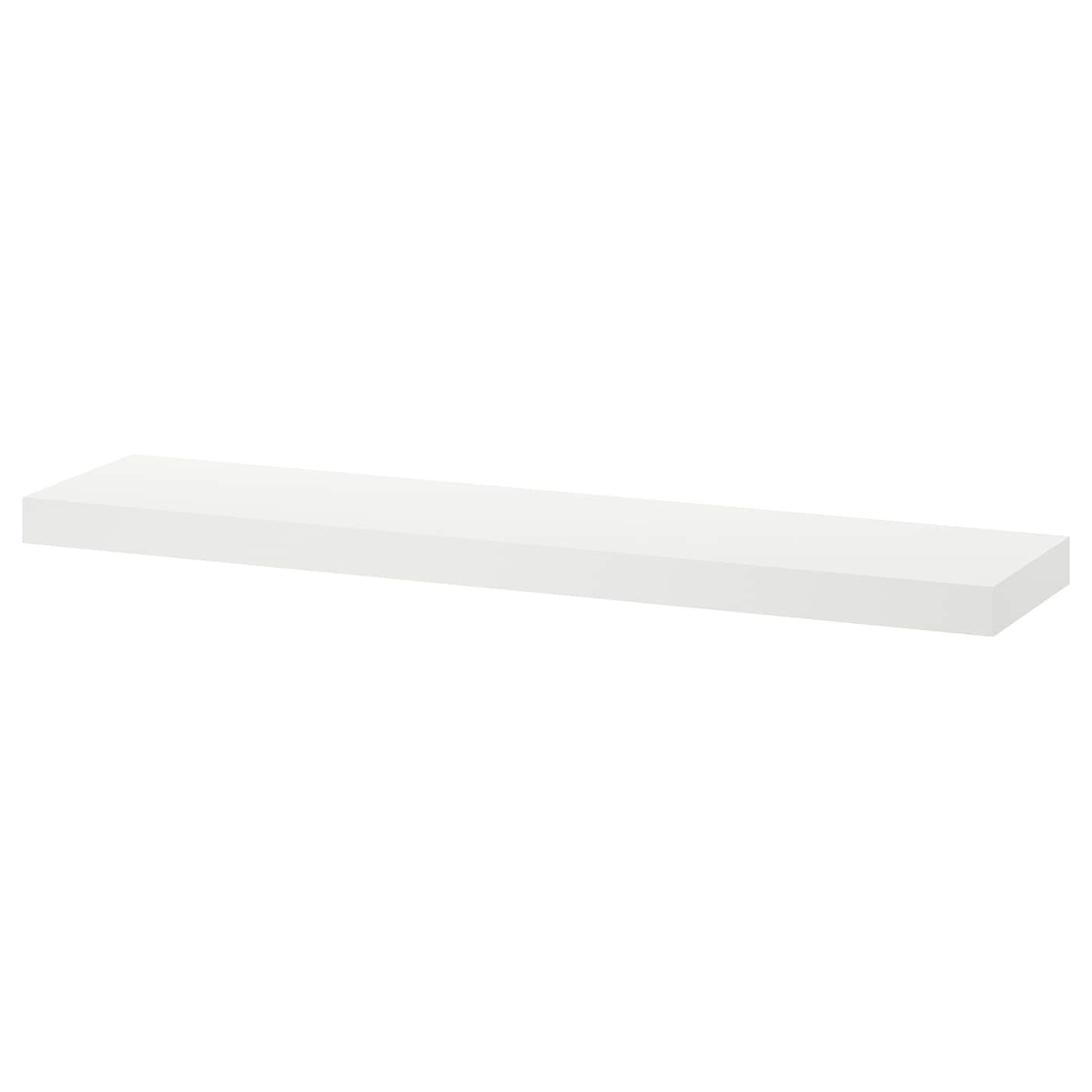 Onzichtbaar Ophangsysteem Voor Planken.Lack Wandplank Wit 110 X 26 Cm Ikea