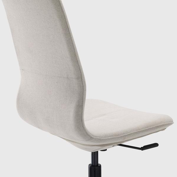 LÅNGFJÄLL Vergaderstoel, Gunnared beige/zwart