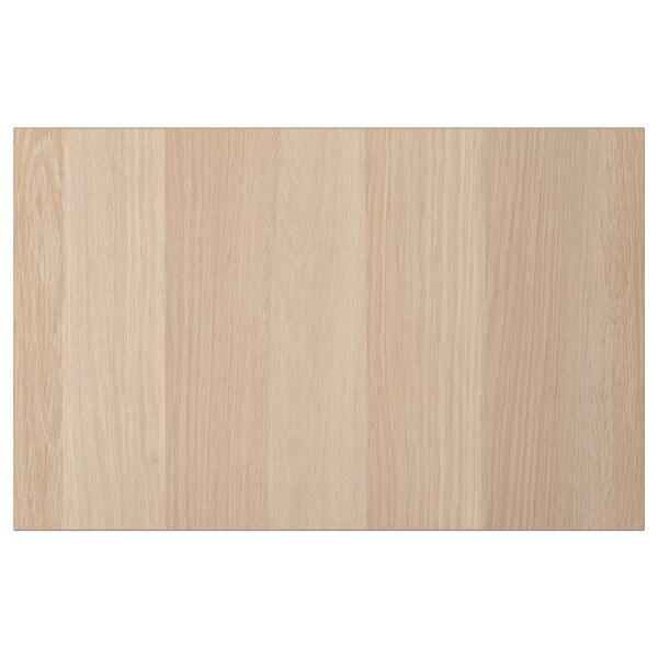LAPPVIKEN deur/ladefront wit gelazuurd eikeneffect 60 cm 38 cm