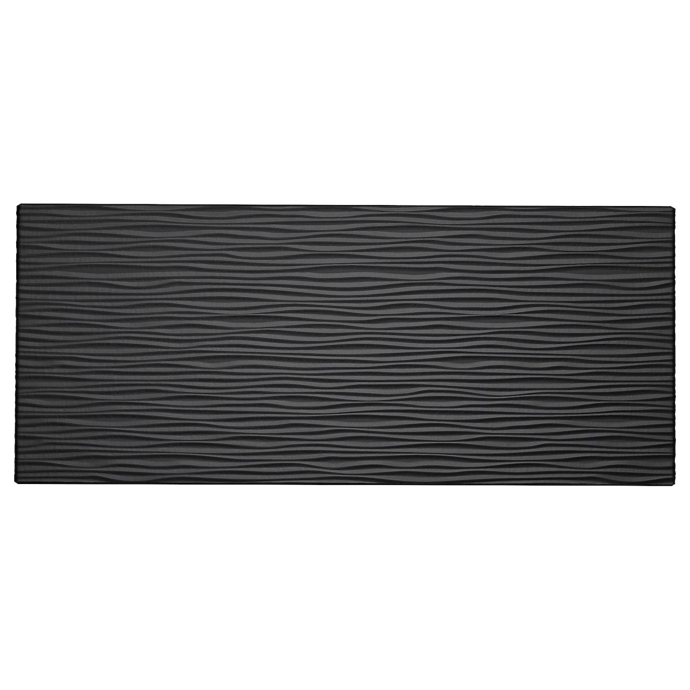 laxviken ladefront zwart 60x26 cm ikea. Black Bedroom Furniture Sets. Home Design Ideas