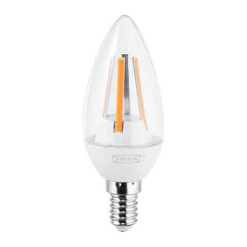 Ikea Ledare Led Lamp E14 400 Lumen