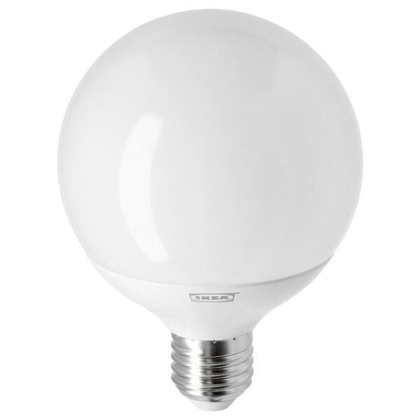LEDARE Led-lamp E27 1055 lumen, warm dimmen/globe opaalwit, 2700 K