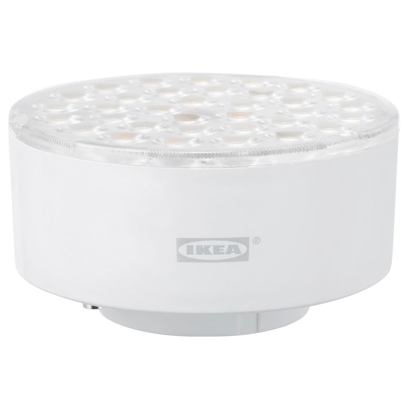 ledare led lamp gx53 1000 lumen warm dimmen verstelbare stralingshoek ikea. Black Bedroom Furniture Sets. Home Design Ideas