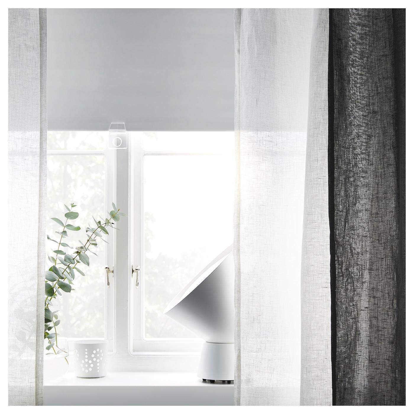 LEJONGAP Gordijnen, 1 paar Wit 145 x 300 cm - IKEA