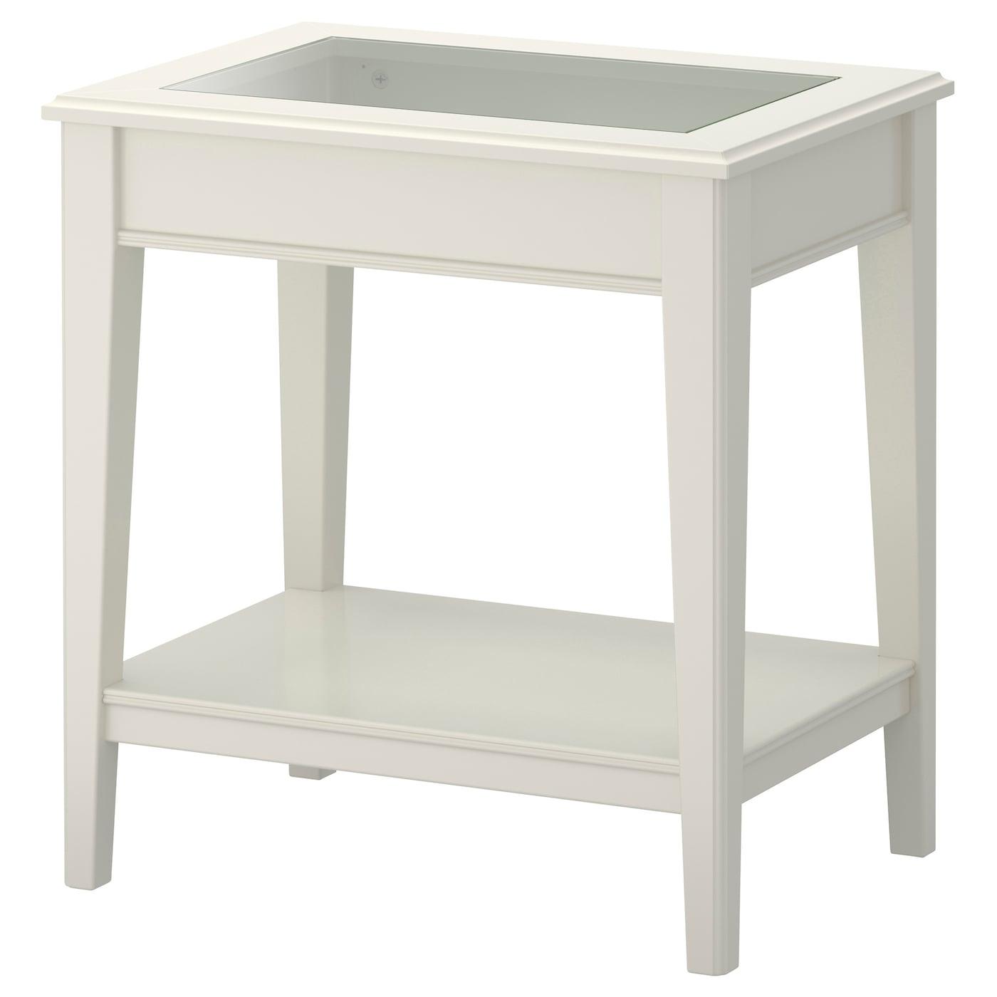 Ikea Bijzettafel Op Wieltjes.Bijzettafels Landelijk Houten Zwart Wit Glazen Design