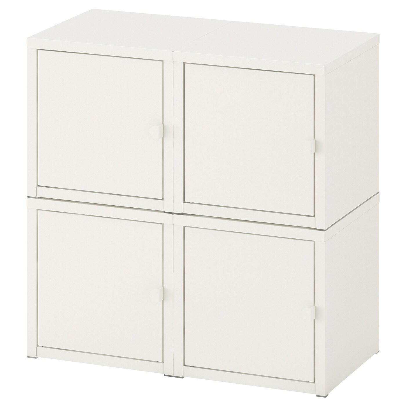 lixhult kastencombinatie voor wandmontage wit 50 x 25 x 50 cm - ikea