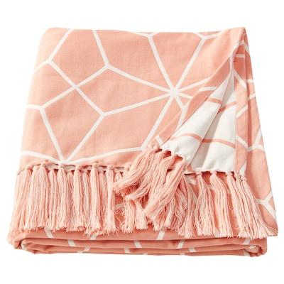 LJUV plaid roze 200 cm 140 cm