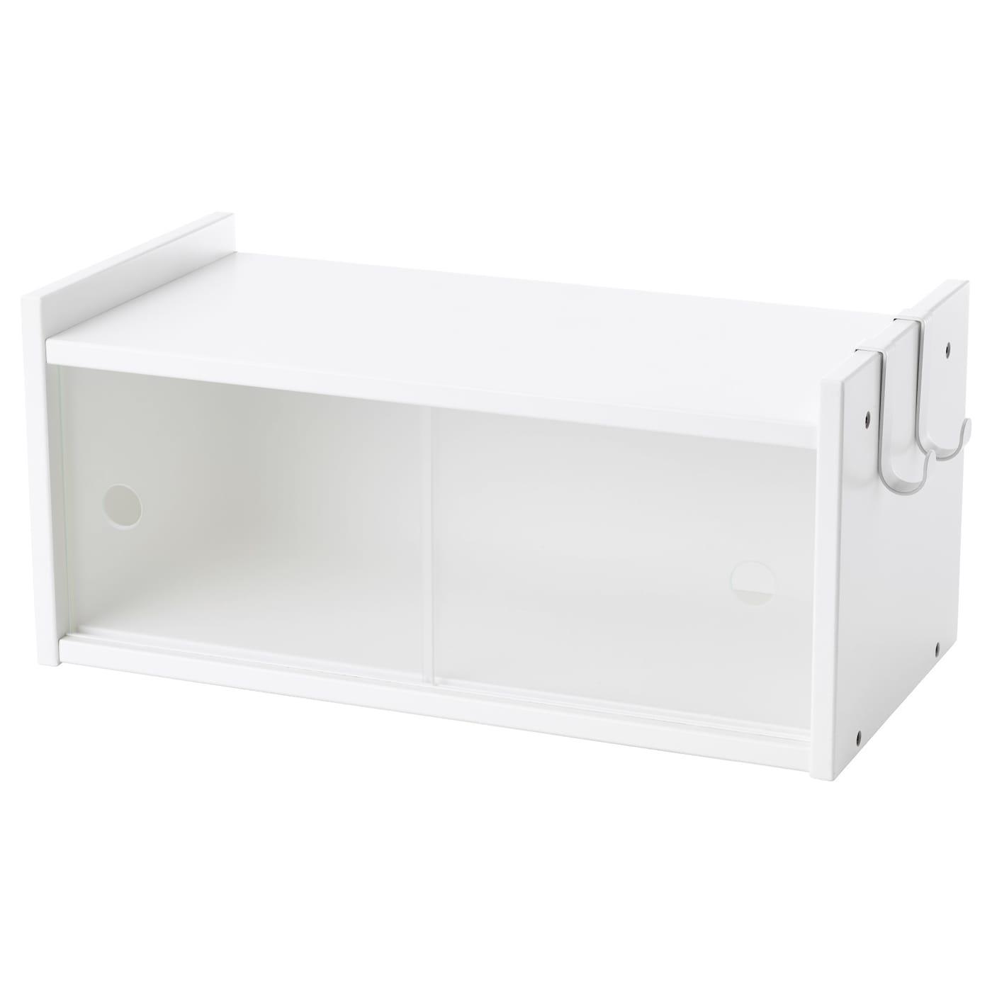 Welp LURVIG Bovenkast met schuifdeuren, wit - IKEA MP-14