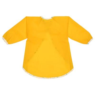 MÅLA Kliederschort met lange mouwen, geel
