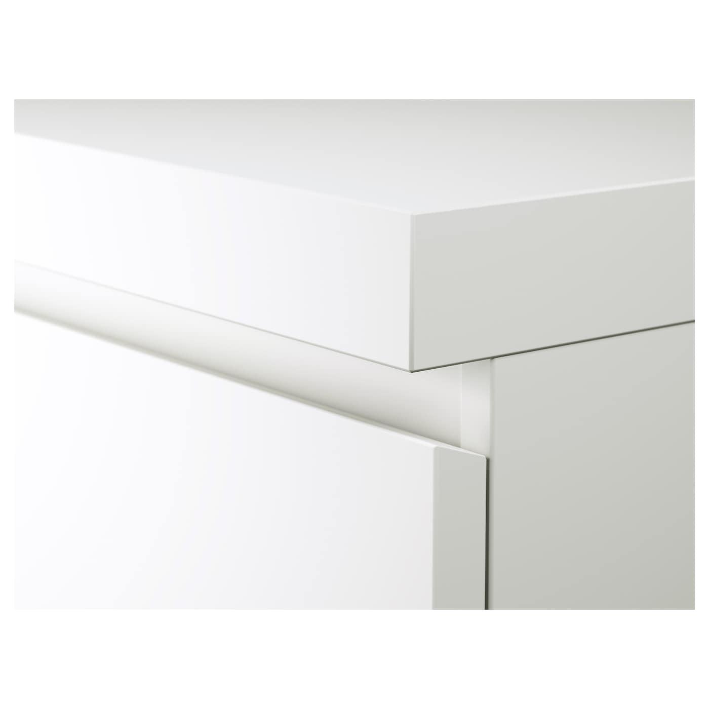 Malm Bureau Wit 140 X 65 Cm Ikea