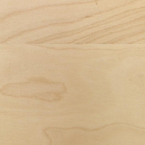 MANDAL Hoofdeinde, berken/wit, 240 cm