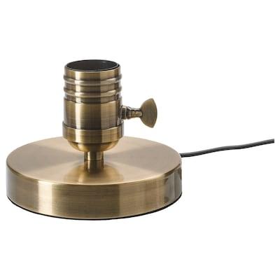 MEGAGRAM tafellamp geborsteld metaal messing 13 W 10 cm 13 cm 1.9 m