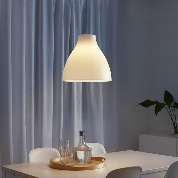 MELODI Hanglamp, wit, 28 cm