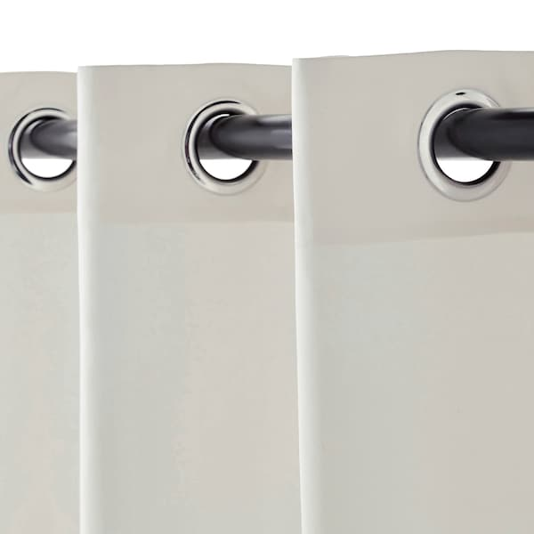 MERETE Deels verduisterende gordijnen,1pr, wit, 145x300 cm