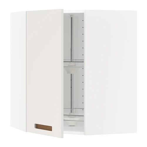 Keuken Carrousel Ikea : METOD Bovenhoekkast met carrousel – wit, M?rsta wit, 68×80 cm – IKEA