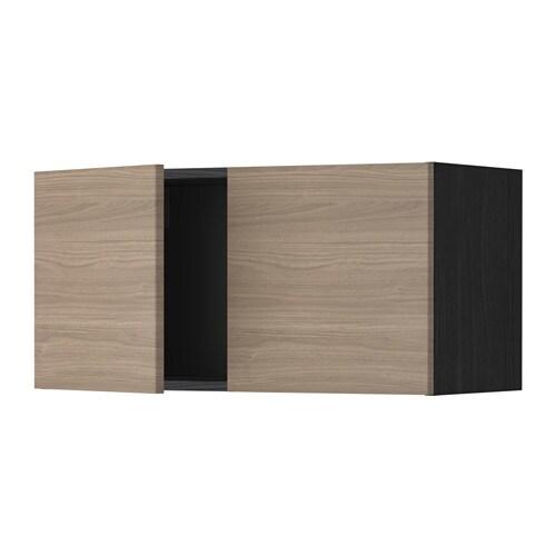 Keuken Zonder Bovenkast : Black Grey Cabinets with Doors