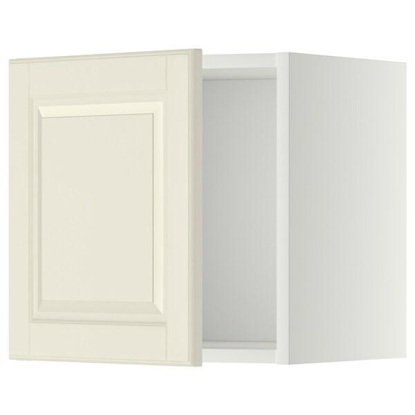 METOD Bovenkast, wit/Bodbyn ecru, 40x40 cm