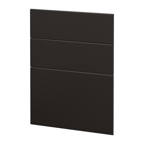 metod 3 fronten voor vaatwasser kungsbacka antraciet ikea. Black Bedroom Furniture Sets. Home Design Ideas