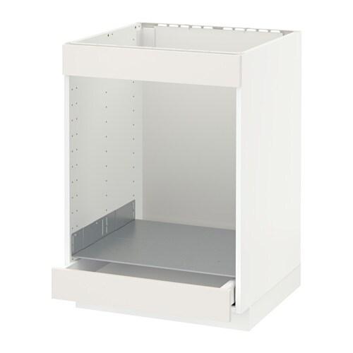 Metod maximera onderkast kookplaat oven m la wit for Mobili 90 x 60