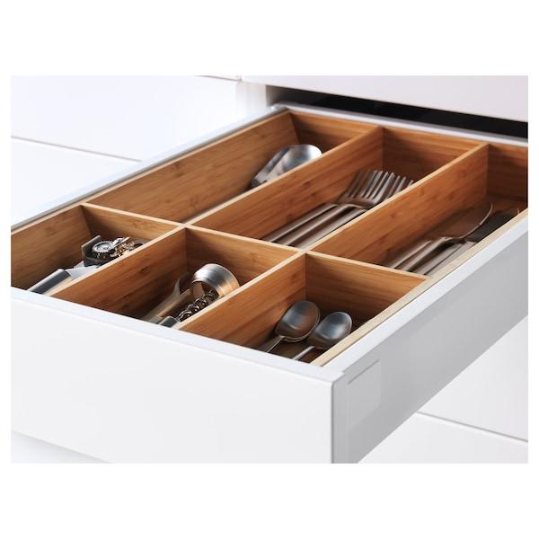 METOD Onderkast 4 front/2 lage/3 M lades, wit/Ringhult wit, 40x60 cm