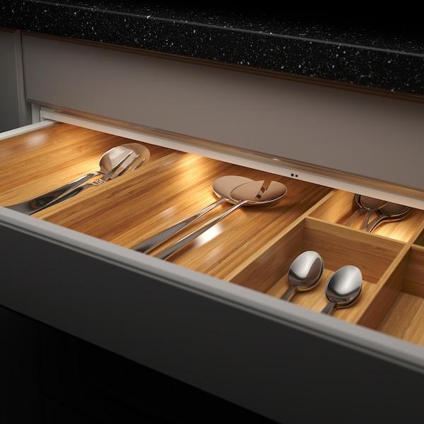 MITTLED Led-strip voor keukenla met sensor, dimbaar wit, 76 cm