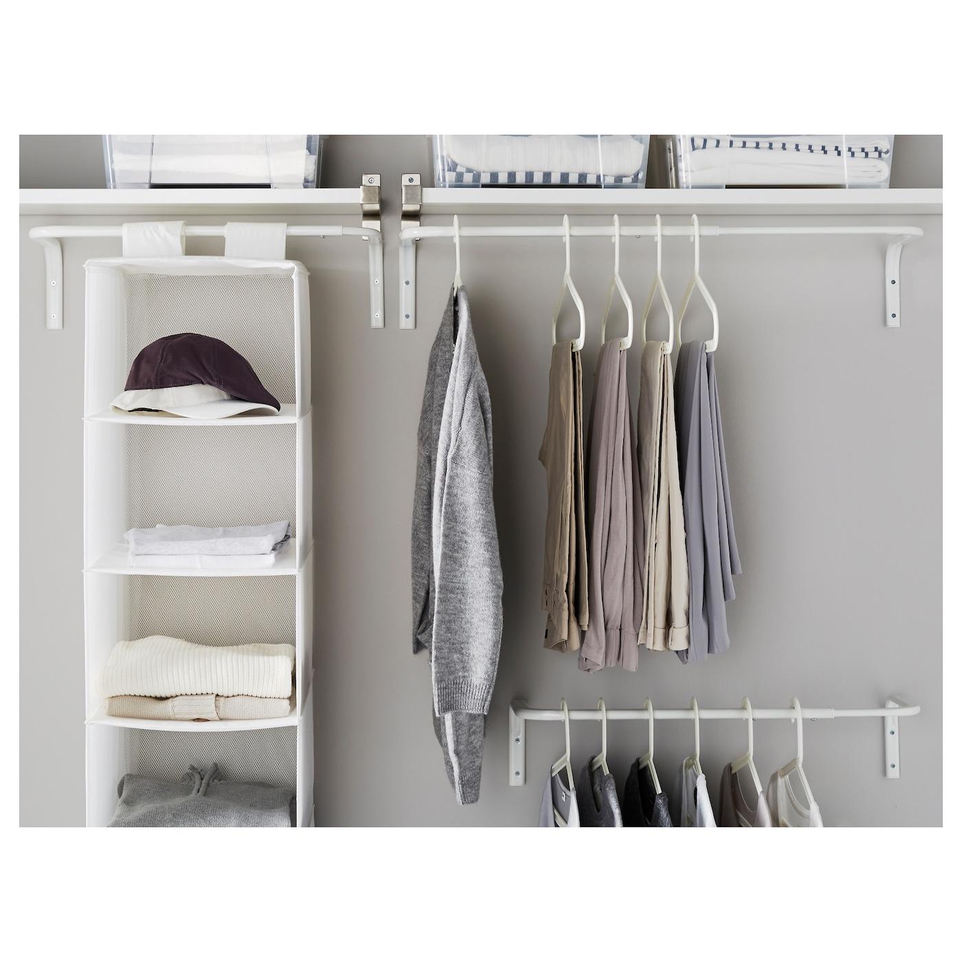 mulig kledingroede wit 60 90 cm ikea. Black Bedroom Furniture Sets. Home Design Ideas