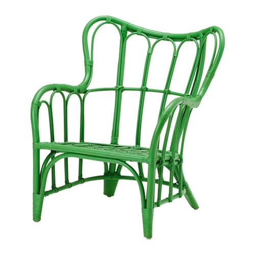 Keuken Groen Ikea : Green Rattan Chair IKEA